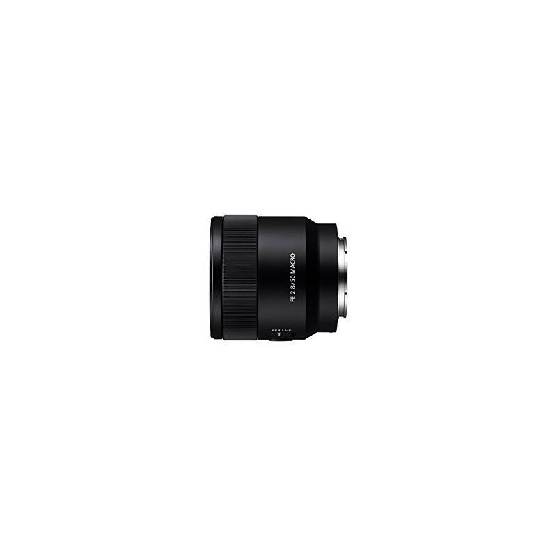 SONY SEL50M28 Montura E Negro Macro FE 50mm F2,8 en JJVicoShop