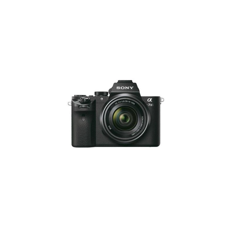 SONY Alpha A/II +28-70mm Negra 24,3Mp 28-70mm FullHD Wifi/NFC en JJVicoShop